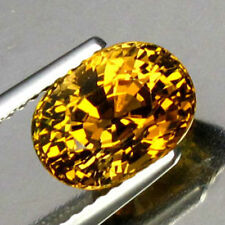 Yellow Sapphire - Natural -  Australian - Oval Cut
