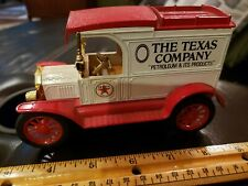 Texaco Ford 1913 Model T Van Coin Bank,Ertl Co. Diecast China