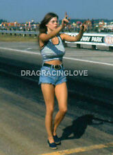 """Jungle Pam"" Hardy ""SEXY Tube Top"" ""Jungle Jim"" Funny Car Racing PHOTO! #(2)"