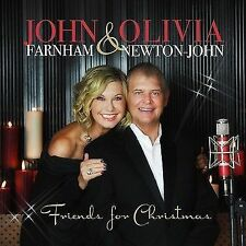 JOHN FARNHAM & OLIVIA NEWTON-JOHN (FRIENDS FOR CHRISTMAS CD SEALED + FREE POST)
