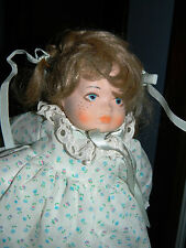 Vintage Bamberger's / Macy's Wind up Musical Porcelain Doll VERY RARE