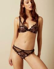 AGENT PROVOCATEUR CARLI BRA AND THONG SET 32C SMALL AP2 BNWT RRP £190