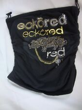 Ecko Red Womens Sleeveless Strapless Top Black Gold Silver Bedazzled Stretch New