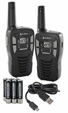 2 pack Cobra Cxt145 Walkie-Talkie Two-Way Radio Micro Usb Rechargeable 16 Mile.