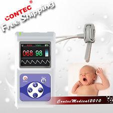 PULSE oximeter SPO2 monitor USB 24 ore neonatale NEONATO nuovi nati in bundle SONDA