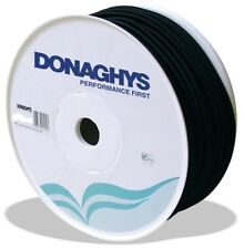 Donaghys Shock Cord Poly Elastic 8mm x 50M Black Marine Boat Rope Water Resistan