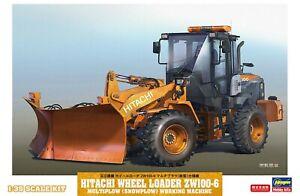 Hasegawa 1/35th Scale Hitachi Wheel Loader ZW100-6 Kit No. 66102