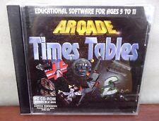 PC CD-ROM ARCADE volte tabelle ~ Software educativo per età 5 - 11 ~ in buonissima condizione