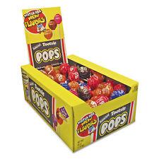 TOOTSIE ROLL INDUSTRIES Tootsie Pops, 0.6 oz, Assorted Flavors, 100/Box 0508
