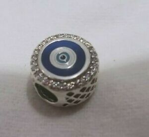 Genuine Pandora Evil Eye Double Sided Charm Canada Excl, Protection EG792016CZ