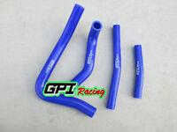 FOR Suzuki RM250 RM 250 1999 2000 99 00 silicone radiator hose BLUE