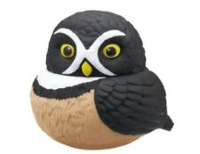 Kitan Club Spectacled Glasses Owl Bird PVC Mini Figurine Figure roly poly toy