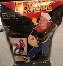 Popeye Adult Character Costume One Size Fun World 1996 King Features Costume