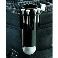 Golf Ball Tee Holder Golf Clip Caddy with Nylon Brush Divot Tool Portable 6N