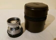 Leica 50mm f/2 Summicron Collapsible Chrome M Mount Lens with Leitz case! CLA'd.