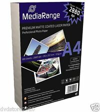 Mediarange Mrink106 - Photo Paper (white Matte A4)