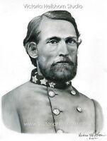 Ltd. Ed. Civil War S/N Art Print - Confederate General John Singleton Mosby