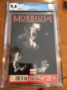 MARVEL NOW MORBIUS THE LIVING VAMPIRE # 1 DELL'OTTO VARIANT CGC 9.4