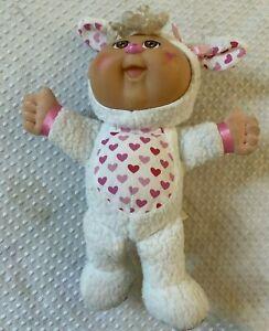 Cpk Cavolo Toppa Cutie Bambola Coniglietto Pasquale Rosa/Bianco Cuori