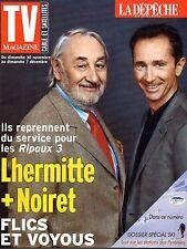 TV MAG 2003: PHILIPPE NOIRET_THIERRY LHERMITTE_DOMINIQUE ROCHETEAU_MISS FRANCE