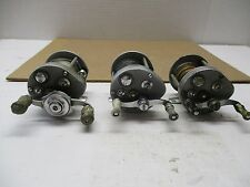 Vintage Pflueger Supreme Fishing Reel Casting Level Wind ** Set of 3 Reels **