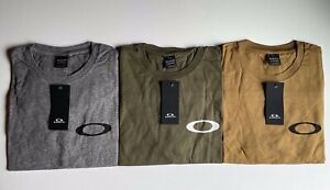 NEW OAKLEY MENS T SHIRT TEE MILITARY CHANNEL SHIRTS LOGO