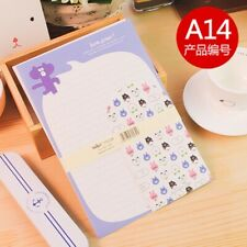 korean  Style Letter set Paper Stationery 3 envelops 6 papers