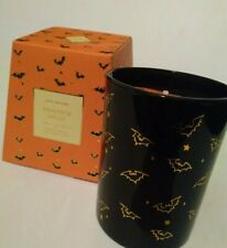 Candle Pumpkin Spice scent Halloween glass jar 8.5oz Dw Home hand poured new box