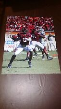 Tyrod Taylor Virginia Tech Hokies Signed 16x20 Cleveland Browns pic #6 CLEARANCE