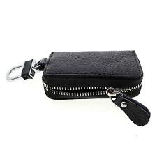 Leather Zipper Car Key Chain Pocket Wallet Holder Purse Gift For Father/Husband