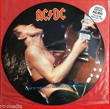"ACDC -That's The Way I Wanna Rock 'n' Roll- UK 12"" Picture Disc / Promo (AC/DC)"