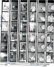 Lot (36) Negatives Lana Wood Davy Jones Ben Murphy 35mm proof sheet w/ rights