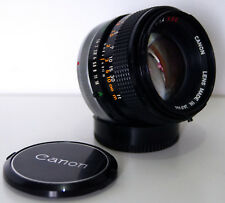 Objectif Lens Canon FD 50mm 1:1.4 s.s.c. Near Mint Condition