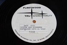 "Dave Colt ""Deeper & Stronger"" Unreleased 70s Soul 45 Fleetwood 10"" Acetate"