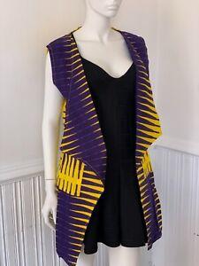 Ankara Waistcoat with pockets
