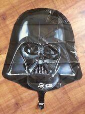 """STAR WARS GIGANTE Darth Vader maschera FOIL 25 """"ELIO BALLOON COMPLEANNO SUPERSHAPE"""