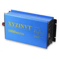 1000W 24V to 110V Pure Sine Wave Power Inverter 2000W Surge Car Converter Solar