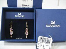 Swarovski Small, Rosette Pierced Earrings Crystal Authentic MIB - 1128102