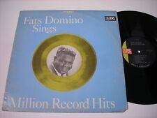 Fats Domino sings Million Record Hits 1964 Stereo LP VG+