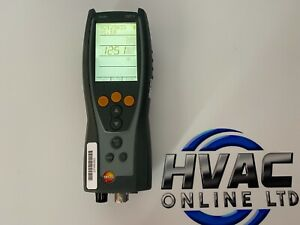 TESTO 327-1 Flue Gas Analyser SN 02123033 NO CURRENT CALIBRATION