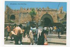 Jerusalem The Old City View To Damascus Gate Postcard 615a