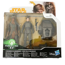 Star Wars Force Link 2.0 Chewbacca & Han Solo (Mimban) - New