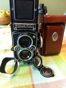 Rolleiflex 3.5e with extras!