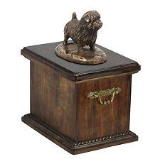 Mascota Urna crematoria Norfolk Terrier CONMEMORATIVO para de perro cenizas, con