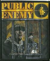 PUBLIC ENEMY vintage target logo 1989 - WOVEN SEW ON PATCH - no longer made
