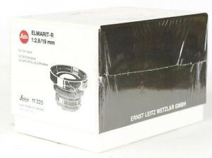 Leica Elmarit-R 19mm f/2.8 3 Cam Lens 11225  New Never Open Never Use
