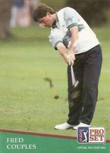 """MINT"" FRED COUPLES 1991 PRO SET GOLF ""OFFICIAL PGA TOUR CARD"" #130"
