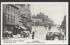 Scotland Postcard - Airdrie - Graham Street & Stirling Street    A2444