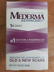 Mederma Old & New Scar Advanced scar gel 1X daily EXP 12/2020