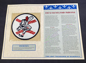 Willabee & Ward Lost Treasures Of Baseball Collection 1975 Cleveland Indians
